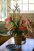 Troipcal Flowers in vase