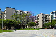 Modern Architecture Student Housing at California State University Fullerton College