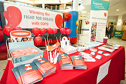"""The launch of the """"Winning The Fight For Breath  with COPD Campaign"""" in Meadowhall Shopping Centre Sheffield on Saturday 18th February 2012..www.pauldaviddrabble.co.uk..18th February 2012 -  Image © Paul David Drabble"""