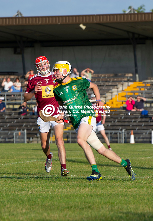01-07-21. Meath v Westmeath - Leinster MHC at TEG Cusack Park, Mullingar.<br /> Dara Horan after scoring an early goal for Meath.<br /> Photo: John Quirke / www.quirke.ie<br /> ©John Quirke Photography, 16 Proudstown Road, Navan. Co. Meath. (info@quirke.ie / 046-9028461 / 087-2579454).