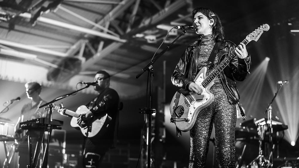 Icelandic indie-rock band Of Monsters and Men at Iceland Airwaves