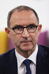 Republic of Ireland manager Martin O'Neill during the squad announcement at Aviva HQ, Dublin.