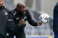 Darren Moore Manager of Doncaster Rovers during the EFL Cup match between Blackburn Rovers and Doncaster Rovers at Ewood Park, Blackburn, England on 29 August 2020.
