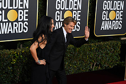 January 6, 2019 - Los Angeles, California, U.S. - Giada Colagrande and Willem Dafoe during red carpet arrivals for the 76th Annual Golden Globe Awards at The Beverly Hilton Hotel. (Credit Image: © Kevin Sullivan via ZUMA Wire)