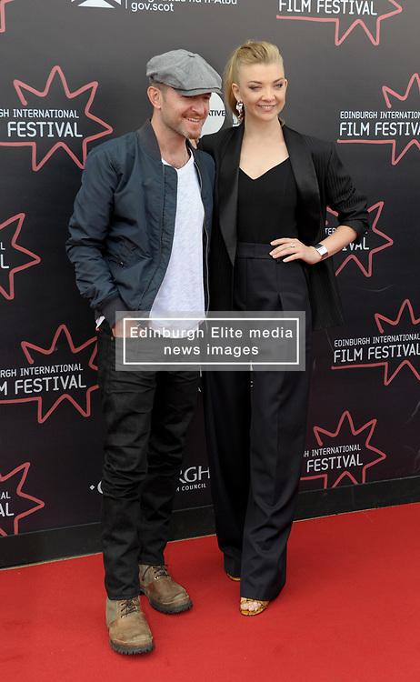 Edinburgh International Film Festival, Tuesday, 26th June 2018<br /> <br /> IN DARKNESS (EUROPEAN PREMIERE)<br /> <br /> Pictured:  Director Anthony Byrne and Natalie Dormer<br /> <br /> (c) Aimee Todd   Edinburgh Elite media