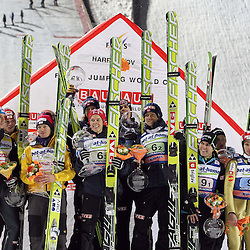 20111210: CZE, Ski jumping - FIS Ski Jumping Worldcup at Harrachov, Team Competition