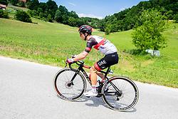 Jan POLANC of UAE TEAM EMIRATES during 1st Stage of 27th Tour of Slovenia 2021 cycling race between Ptuj and Rogaska Slatina (151,5 km), on June 9, 2021 in Sports park Kranj, Kranj, Slovenia. Photo by Vid Ponikvar / Sportida