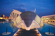 Valencia. Ciudad de las Artes y las Ciencias. Museo de las Ciencias Principe de Asturias.<br />
