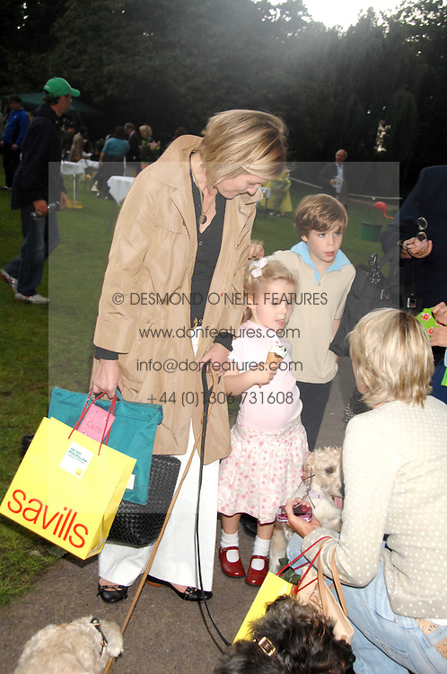 VISCOUNTESS LINLEY and her daughter the HON.MARGARITA ARMSTRONG-JONES at Macmillan Dog Day in aid of Macmillan Cancer Support, held at Royal Hospital Chelsea, London on 3rd July 2007.<br /><br />NON EXCLUSIVE - WORLD RIGHTS