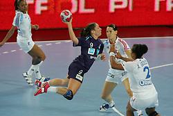 Jericek Nina of Slovenia during handball match between National teams of Slovenia and France of 2011 Women's World Championship Play-off, on June 12, 2011 in Arena Stozice, Ljubljana, Slovenia. (Photo By Urban Urbanc / Sportida.com)