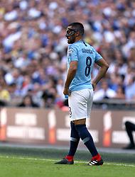 Manchester City's Ilkay Gundogan in action