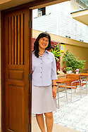Baan Dinso Owner, Mam, at Baan Dinso Guesthouse