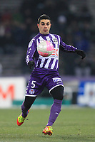 FOOTBALL - FRENCH CHAMPIONSHIP 2011/2012 - L1 - TOULOUSE FC v AS SAINT ETIENNE - 12/02/2012 - PHOTO MANUEL BLONDEAU / DPPI - PAULO MACHADO