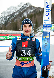 Fourth placed Timi Zajc (SLO) posing after the Ski Flying Hill Individual Competition at Day 2 of FIS Ski Jumping World Cup Final 2019, on March 22, 2019 in Planica, Slovenia. Photo by Vid Ponikvar / Sportida