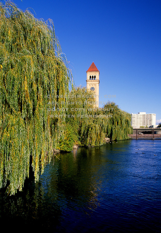 Image of Riverfront Park and the Spokane River in Spokane, Washington, Pacific Northwest by Randy Wells