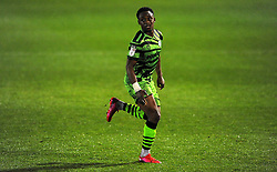 Udoka Godwin-Malife of Forest Green Rovers- Mandatory by-line: Nizaam Jones/JMP - 14/11/2020 - FOOTBALL - innocent New Lawn Stadium - Nailsworth, England - Forest Green Rovers v Mansfield Town - Sky Bet League Two