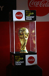 January 24, 2018 - Colombo, Western, Sri Lanka - A ceremony marking the arrival of the 2018 FIFA World Cup winner's. The FIFA World Cup Trophy Tour will visit 91 cities, across 51 countries. (Credit Image: © Musthaq Thasleem/Pacific Press via ZUMA Wire)