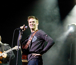 Bryan Adams with Singer Song Writer and Good Friend Elliot Kennedy at a Christmas Charity Concert at Sheffield City Hall in Aid of Weston Park  Cancer Hospital & Cavendish Cancer Charity   (Peter Kay)<br /> <br /> 17 December 2008  © Paul David Drabble<br /> www.pauldaviddrabble.co.uk