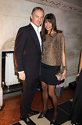 ANTON & LISA BILTON at Andy & Patti Wong's annual Chinese New Year party, this year celebrating the year of the dog held at The Royal Courts of Justice, The Strand, London WC2 on 28th January 2006.<br />