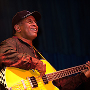 Originally from the south side of Chicago, Biscuit Miller has performed with Muddy Waters, Ike and Tina Turner and other blues legends. Miller's funk and groove style blues gets crowds out of their seats and moving on their feet.
