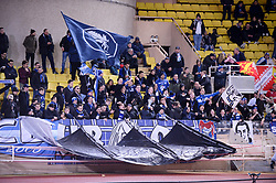 January 19, 2019 - Monaco, France - ILLUSTRATION - SUPPORTERS - DRAPEAUX (Credit Image: © Panoramic via ZUMA Press)