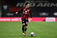Rodrigo Riquelme (20) of AFC Bournemouth on the attack during the EFL Sky Bet Championship match between Bournemouth and Stoke City at the Vitality Stadium, Bournemouth, England on 8 May 2021.