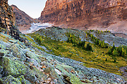 The Opabin Plateau from the Yukness Ledges Trail, Yoho National Park, British Columbia, Canada