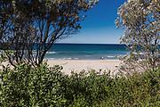 General views of Mollymook Beach, Ulladulla, NSW Australia.