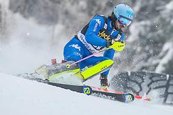 Tommaso Sala (ITA) during 1st run of Men's Slalom race of FIS Alpine Ski World Cup 57th Vitranc Cup 2018, on March 4, 2018 in Kranjska Gora, Slovenia. Photo by Ziga Zupan / Sportida