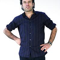 Nederland, amsterdam , 20 januari 2011..Auke Kok (Haarlem, 1956) is een Nederlands journalist en publicist..Kok studeerde maatschappijgeschiedenis aan de Erasmus Universiteit in Rotterdam. Daarna was hij werkzaam als redacteur van de Haagse Post en maandblad Quote. Tussen 1990 en 2000 was Kok redacteur, adjunct-hoofdredacteur en hoofdredacteur ad interim van opinieweekblad HP/De Tijd, daarna stapte hij als redactiechef over naar het NOS Radio 1 Journaal. In 2004 vestigde Kok zich als zelfstandig journalist en boekenschrijver. Met 1974. Wij waren de besten won hij de Nico Scheepmaker Beker voor het beste sportboek van 2004..Foto:Jean-Pierre Jans