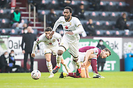 Milton Keynes Dons forward Cameron Jerome (35) the FA Cup match between Burnley and Milton Keynes Dons at Turf Moor, Burnley, England on 9 January 2021.