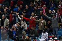 03.02.2013 SPAIN -  La Liga 12/13 Matchday 22th  match played between Atletico de Madrid vs Real Betis Balompie (1-0) at Vicente Calderon stadium. The picture show  Diego Pablo Simeone coach of Atletico de Madrid