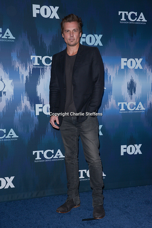 LEN WISEMAN at the Fox Winter TCA 2017 All-Star Party at the Langham Hotel in Pasadena, California
