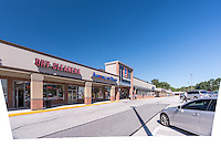 Exterior image of Loch Raven Plaza by Jeffrey Sauers of Commercial Photographics, Architectural Photo Artistry in Washington DC, Virginia to Florida and PA to New England