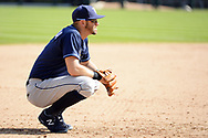 CHICAGO - SEPTEMBER 03:  Evan Longoria #3 of the Tampa Bay Rays looks on against the Chicago White Sox on September 3, 2017 at Guaranteed Rate Field in Chicago, Illinois.  (Photo by Ron Vesely) Subject:   Evan Longoria