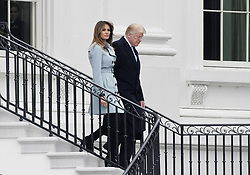 President Donald Trump, with First Lady Melania Trump attends the 140th Easter Egg Roll on the South Lawn of the White House in Washington, DC on Monday, April 2, 2018. Photo by Olivier Douliery/Abaca Press