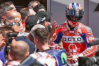 Danilo Petrucci of Italy and OCTO Pramac Racing third during  the Moto GP Grand Prix at the Mugello race track on June 4, 2017.<br /> Photo by Danilo D'Auria.<br /> <br /> Danilo D'Auria/UK Sports Pics Ltd/Alterphotos