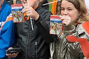 Koning Willem-Alexander en koningin Maxima tijdens hun streekbezoek aan Zeeuws Vlaanderen<br /> <br /> King Willem-Alexander and Queen Maxima  during their visit to Zeeuws Vlaanderen.<br /> <br /> Op de foto / On the photo:  Aankomst bij Woonzorgcentrum De Blaauwe Hoeve / Arrival at Woonzorgcentrum The Blaauwe Hoeve Aankomst bij Industrieel Museum Zeeland / Arrival at Industrial Museum Zealand