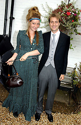 BEN & KATE GOLDSMITH at the wedding of Tom Parker Bowles to Sara Buys at St.Nicholas Church, Rotherfield Greys, Oxfordshire on 10th September 2005.<br /><br />NON EXCLUSIVE - WORLD RIGHTS