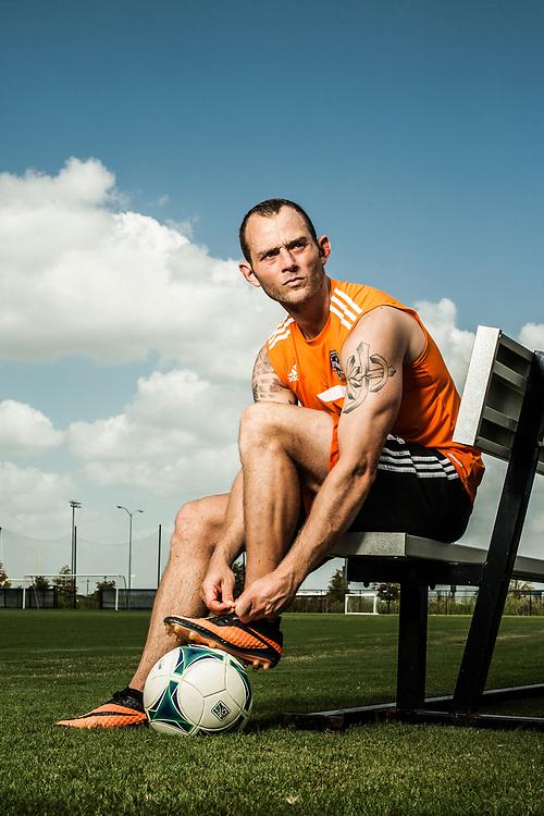 Brad Davis - Houston Dynamo - Houston, Texas - 2013