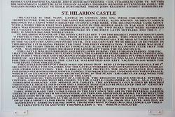 St. Hilarion Castle History