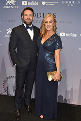 Sarah Jane-Mee and Ben Richardson at the Boodles Boxing Ball, in association with Argentex and YouTube in Support of Hope and Homes for Children at Old Billingsgate London, United Kingdom - 7 Jun 2019 Photo Dominic O'Neil
