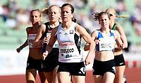 Friidrett ,  11. juni 2015 , Diamond League , Bislett Games , Oslo<br />  Atheltics<br /> 1500 m<br /> Christina Toogood , NOR