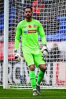 Bolton Wanderers' Remi Matthews in action<br /> <br /> Photographer Richard Martin-Roberts/CameraSport<br /> <br /> The EFL Sky Bet League One - Bolton Wanderers v Fleetwood Town - Saturday 2nd November 2019 - University of Bolton Stadium - Bolton<br /> <br /> World Copyright © 2019 CameraSport. All rights reserved. 43 Linden Ave. Countesthorpe. Leicester. England. LE8 5PG - Tel: +44 (0) 116 277 4147 - admin@camerasport.com - www.camerasport.com