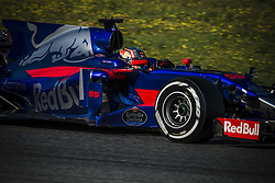 February 27, 2017 - CARLOS SAINZ JR. (ESP) drives on the track during day 1 of Formula One testing at Circuit de Catalunya, Spain (Credit Image: © Matthias Oesterle via ZUMA Wire)
