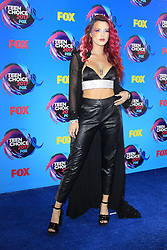 August 13, 2017 - Los Angeles, CA, USA - LOS ANGELES - AUG 13:  Bella Thorne at the Teen Choice Awards 2017 at the Galen Center on August 13, 2017 in Los Angeles, CA (Credit Image: © Kay Blake via ZUMA Wire)