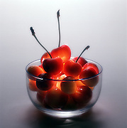 Rainier cherries are a Washington State jewel, prized for their lovely golden tones and extra-sweet taste.  (Benjamin Benschneider / The Seattle Times)