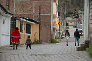 Quichua people<br /> Riobamba<br /> Cordillera Occidental, Andes<br /> ECUADOR, South America