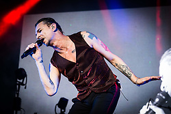 July 2, 2018 - Barolo, Cuneo, Italy - British band Depeche Mode performs on Collisioni in Barolo. (Credit Image: © Corrado Iorfida/Pacific Press via ZUMA Wire)