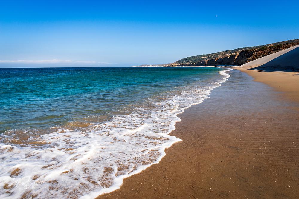 Water Canyon Beach, Santa Rosa Island, Channel Islands National Park, California USA